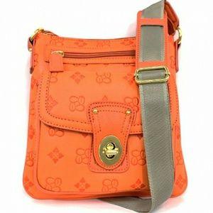 Handbags - Fashion Design Crossbody Messenger Bag Orange
